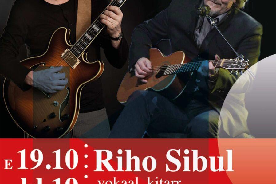 Riho Sibul (kitarr, vokaal) ja Ain Agan (kitarr) Türi kultuurikeskuses - Türi Kultuurikeskus