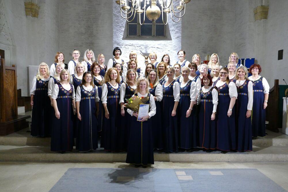 Naiskoor Meretule kontsert - Harkujärve Kogukonnakirik