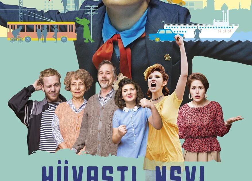 """Kinoõhtu Kabala rahvamajas- """"Hüvasti, NSVL"""" EST 2020 - Kabala Rahvamaja"""