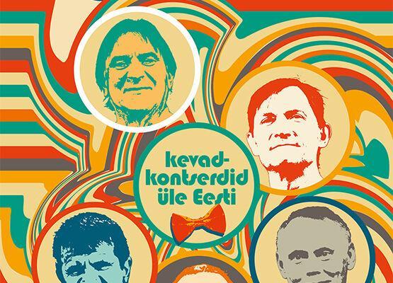 """UUS KUUPÄEV 8.09 Kaunimate Aastate Vennaskond """"Kaunimad 70ndad me elus"""" - Türi Kultuurikeskus"""