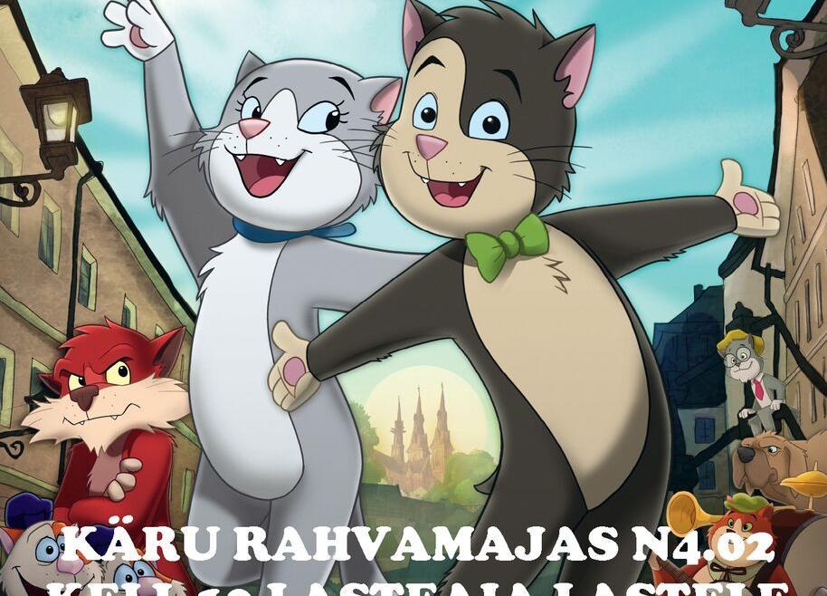 """Animafilm """"Sabata kass"""" SWE 2020 Käru rahvamajas - Käru Rahvamaja"""