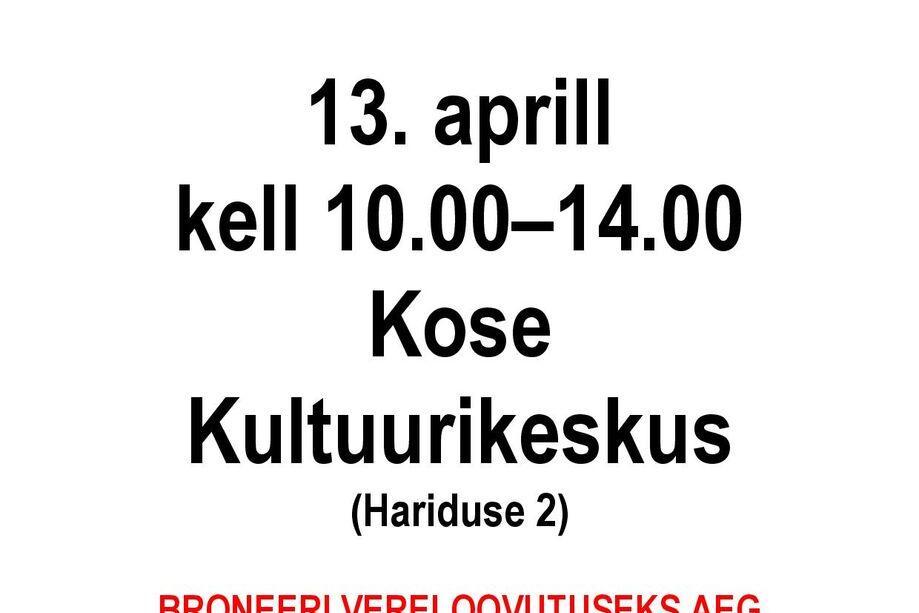DOONORIPÄEV - Kose Kultuurikeskus