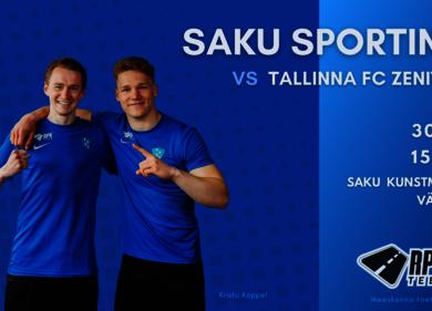 Saku Sportingu võistlusmäng - Saku vald