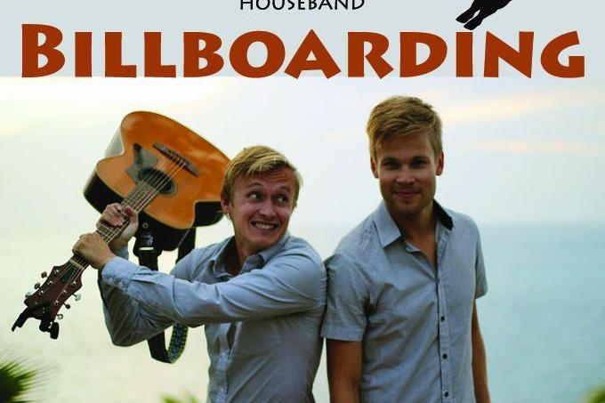 Rodeo Pull ja Houseband BILLBOARDING - Püssirohukelder