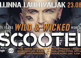 Scooter : Wild & Wicked 25 aastat World Tour - Tallinna Lauluväljak