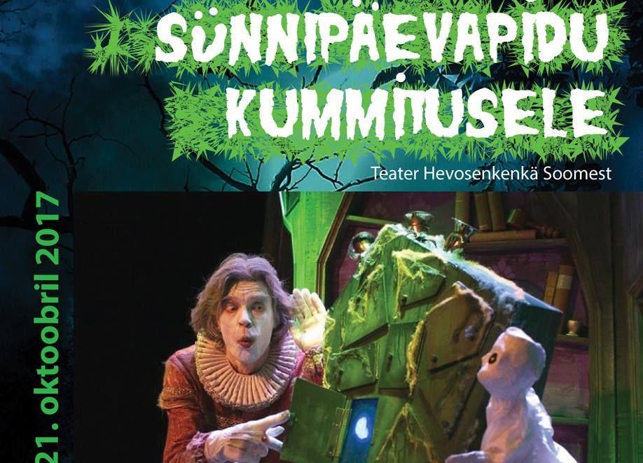 """Etendus """"Sünnipäevapidu kummitusele"""" - Teatri Kodu"""