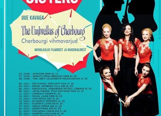 """The Ilves Sisters """"Cherbourgi vihmavarjud"""" - Urvaste kirik"""