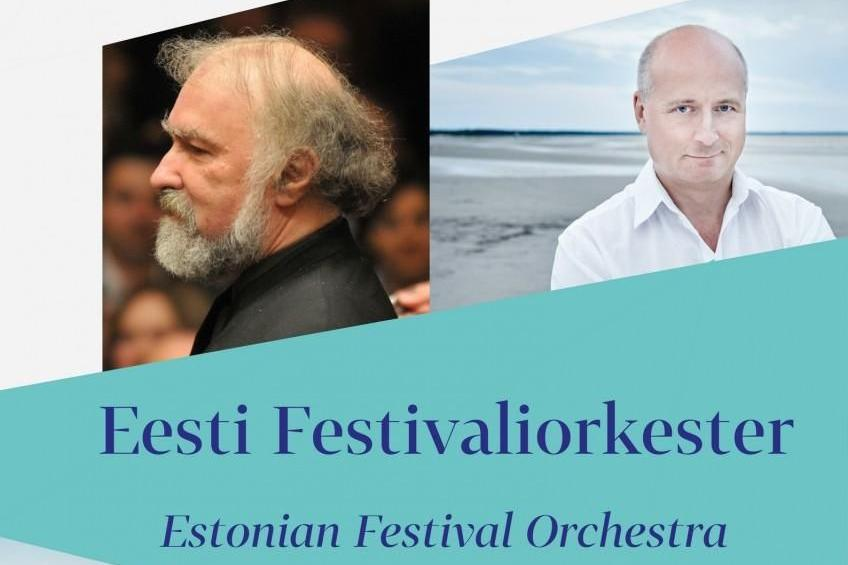 Pärnu Muusikafestival esitleb: Radu Lupu (klaver, Rumeenia), Eesti Festivaliorkester, dirigent Paavo Järvi - Pärnu kontserdimaja