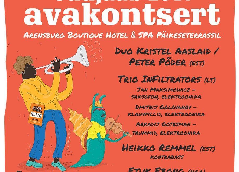 JuuJääb 2017 avakontsert - Arensburg Spa Hotell Saaremaal
