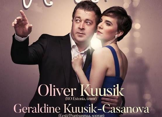 "Oliver Kuusik ja Geraldine Kuusik-Casanova ""Paris, mon Amour"" - Anija Mõis"