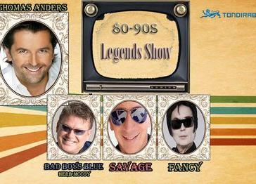 80-90s Legends Show - Tondiraba Ice Hall