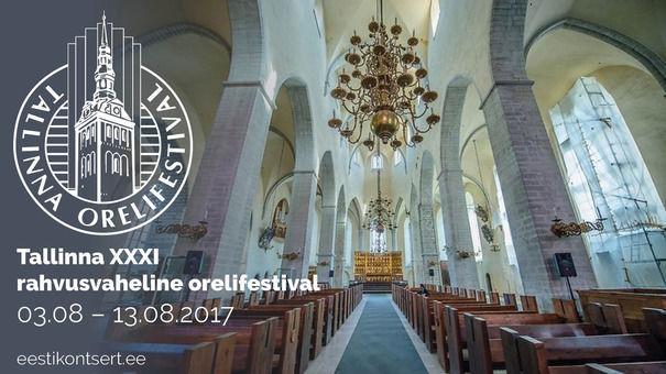 Tallinna XXXI Rahvusvaheline Orelifestival - Tallinna Jaani kirik