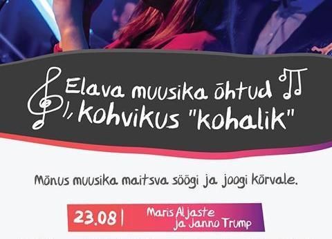 Elava muusika õhtud kohvikus Kohalik - Kohalik