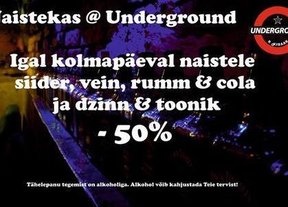 Naisteka @underground - Underground