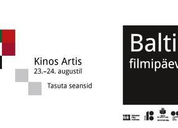Balti filmipäevad / Baltic Film Days - Kino Artis