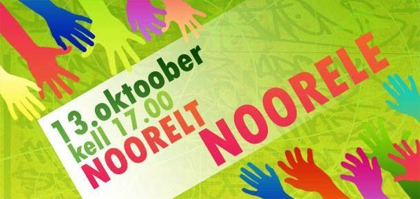 Flash mob Noorelt Noorele! / От молодого к молодому! - Kohtla-Järve Kultuurikeskus