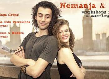 Kizomba workshopid + Afro House: Nemanja & Iryna - Casa de Baile