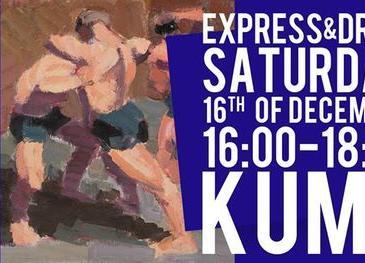 Express & Draw, Wrestler Drawing Session 3/4 ( double model ) - Kumu kunstimuuseum