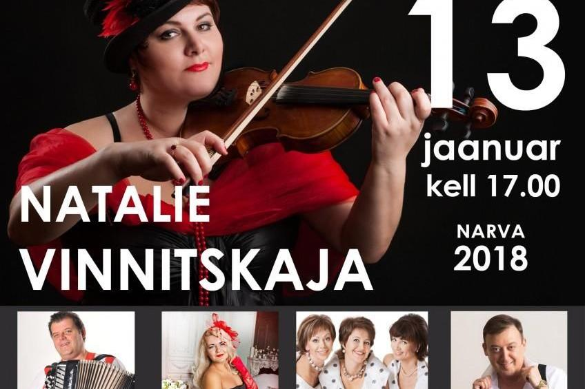 Gala kontsert - Natalie Vinnitskaja - Geneva Keskus / Nightclub