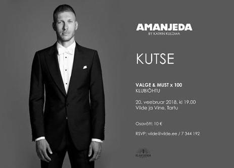 Must ja valge: Amanjeda by Katrin Kuldma - Vilde ja Vine