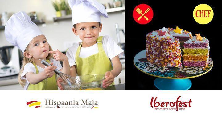 HispaaniaChef: kokandusvõistlus lastele | Cooking for kids. - Hispaania Maja. Hispaania Keele ja Kultuuri Keskus