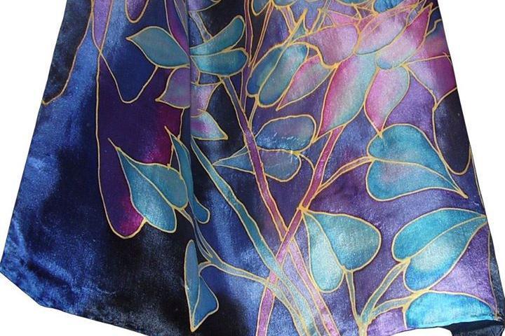 Kursus: Siidimaal H.Dupont auruvärvidega - Skizze