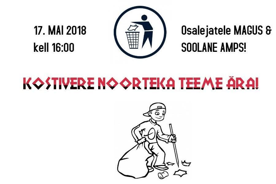 Kostivere noorteka TEEME ÄRA!  - Kostivere Noortekeskus