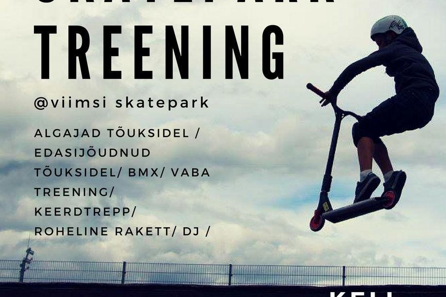 Viimsi Skatepark treening  - Viimsi Skatepark