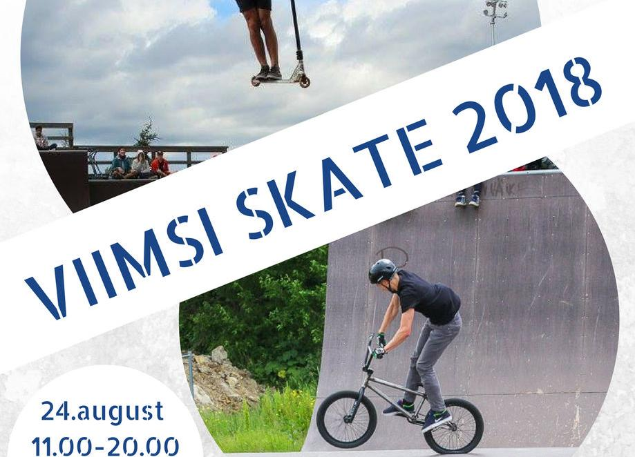 Viimsi SKATE 2018 - Viimsi Skatepark