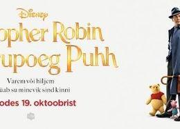 """Koguperefilm """"Christopher Robin ja karupoeg Puhh"""" - Jõgeva Kultuurikeskus"""