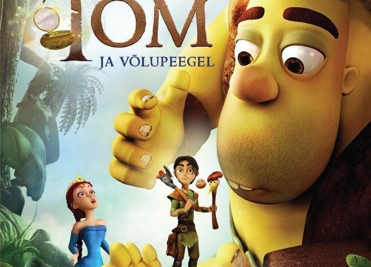 """Koolivaheaja kino- Animafilm """"Väike Tom ja võlupeegel"""" ESP Türi kultuurikeskuses - Türi Kultuurikeskus väike saal"""