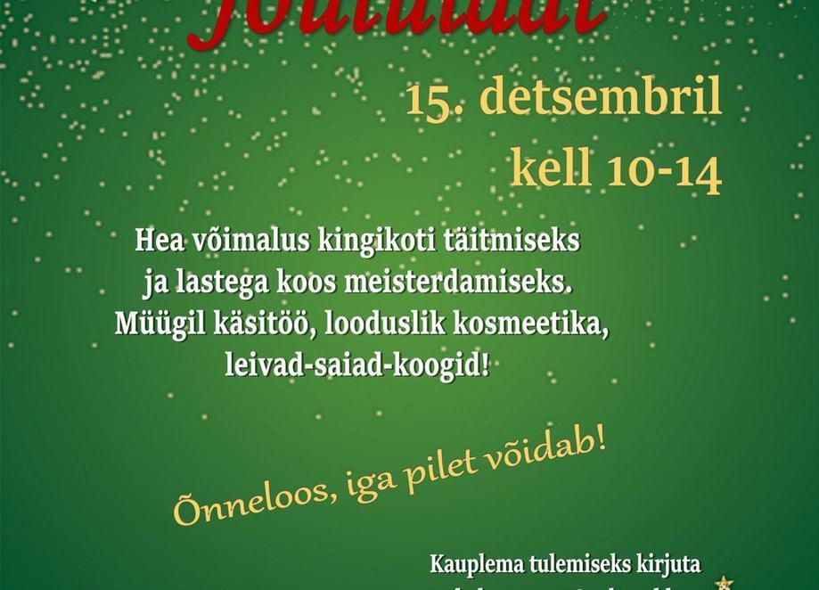 Jõululaat - Kiisa Rahvamaja