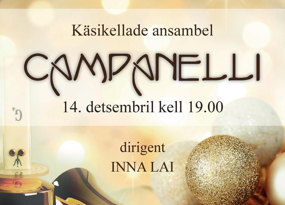 Käsikellade ansambel Campanelli jõulukontsert - Viimsi Huvikeskus