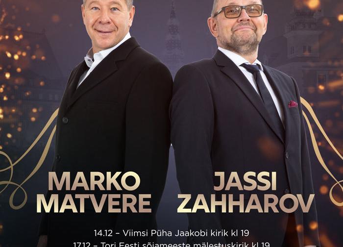 Jõuluooper - Jassi Zahharov ja Marko Matvere - EELK Viimsi Püha Jaakobi kirik