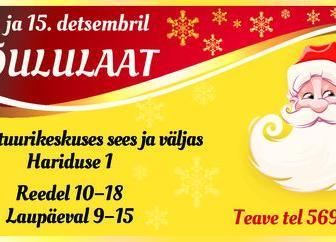 Traditsiooniline jõululaat Türi kultuurikeskuses. - Türi Kultuurikeskus