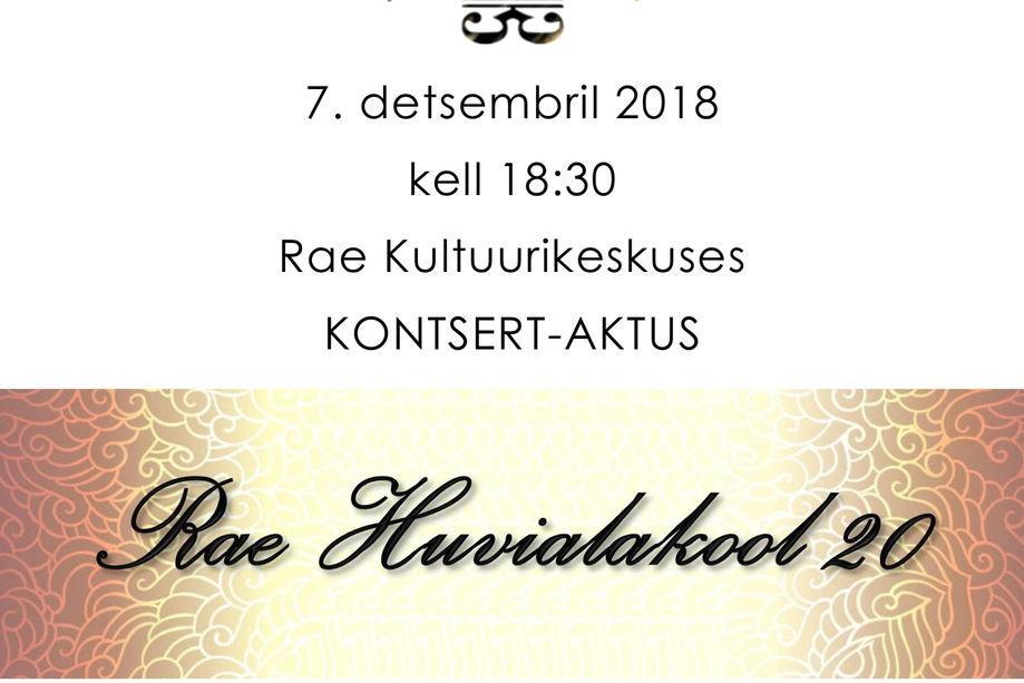 Rae Huvialakool 20  - Rae Kultuurikeskus