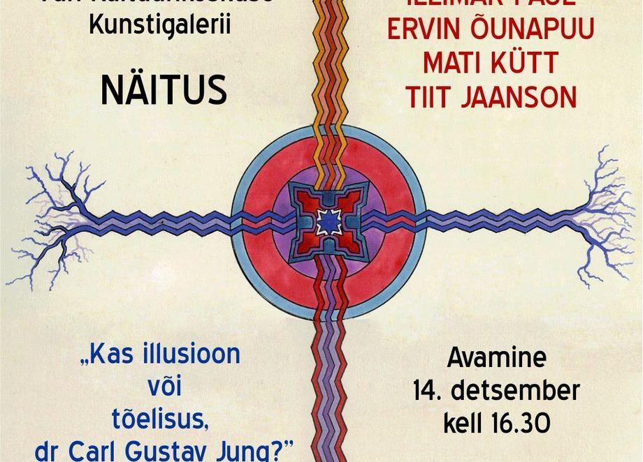 """Näituse """"Kas illusioon või tõelisus. Dr. Carl Gustav Jung?"""" avamine Türi kultuurikeskuses - Türi Kultuurikeskus kunstigalerii"""