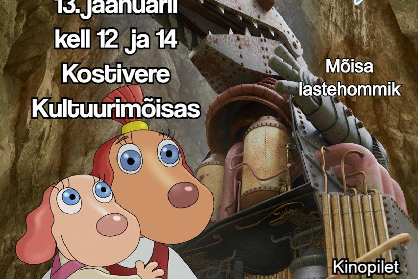 """Mõisa lastehommik """"Lotte ja kadunud lohed"""" - Kostivere Kultuurimõis"""