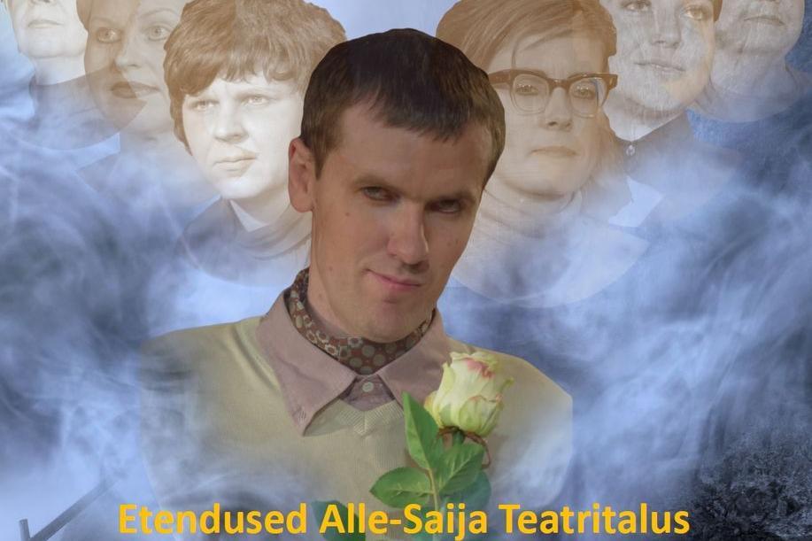 """Krimipõnevik """"Täpselt nagu roos"""" - Alle-Saija Teatritalu"""