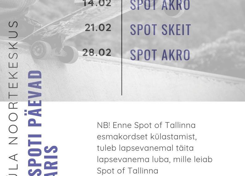 Noortekeskusega Spot of Tallinnasse - Järveküla Noortekeskus