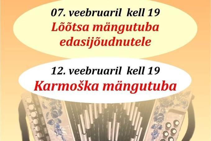 Karmoška mängutuba Türi kultuurikeskuses. - Türi Kultuurikeskus