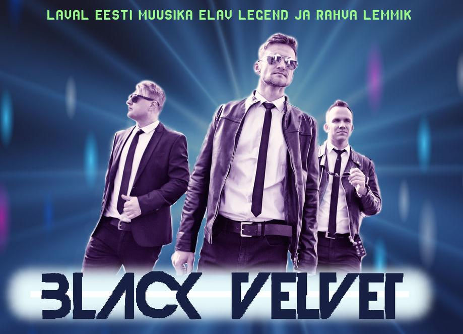 SUUR RETROPIDU asnambliga Black Velvet - Kose Kultuurikeskus