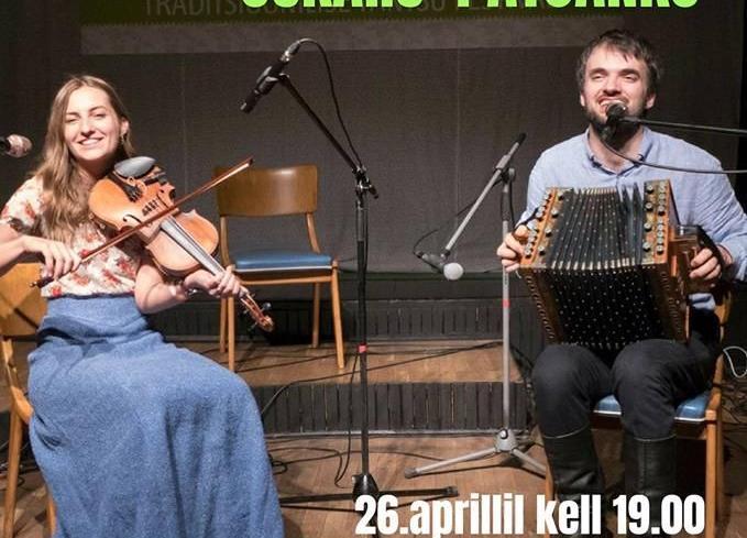 """VIII akordionifestivali kontsert - duo """"Kaktu balle"""" - Jõgeva Kultuurikeskus"""