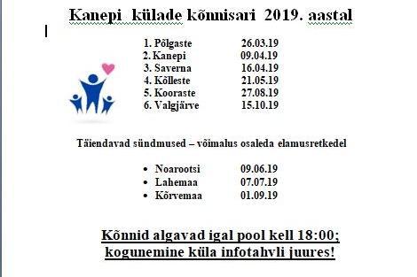 Kanepi külade kõnnisari 2019 - Saverna