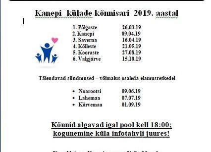 Kanepi külade kõnnisari 2019 - Valgjärve