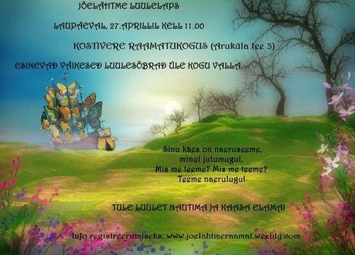 Jõelähtme luulelaps - Kostivere Raamatukogu