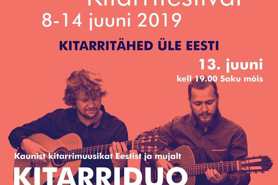 Kitarriduo Siim Kartau ja Sulev Kiivit - Saku Mõis