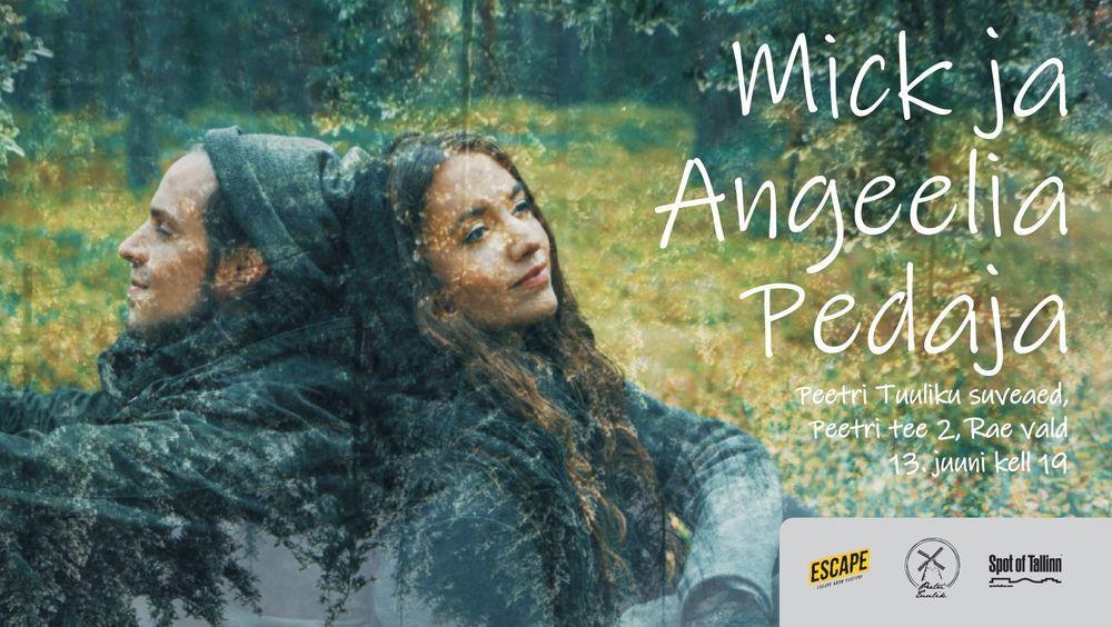 Peetri Tuuliku suveaia kontsert - Mick ja Angeelia Pedaja - Peetri tuulik