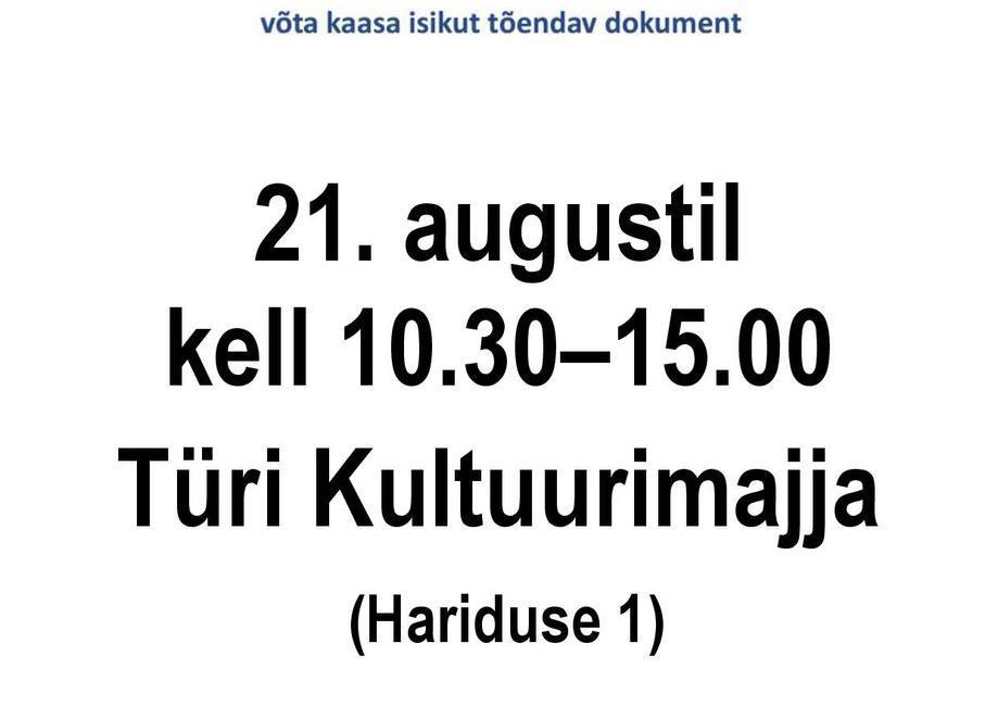 Doonoripäev Türi kultuurikeskuses - Türi Kultuurikeskus