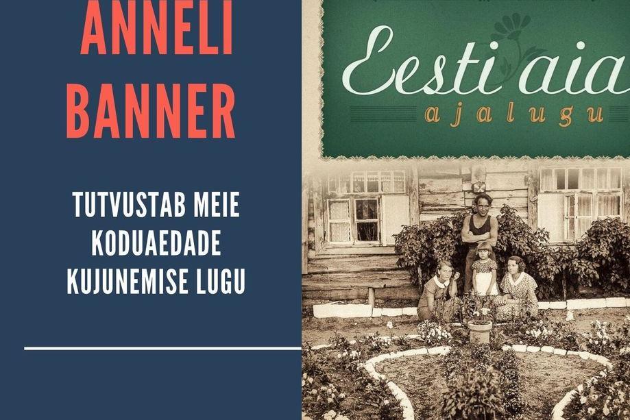 Anneli Banner tutvustab Eesti aia ajalugu - Harku raamatukogu